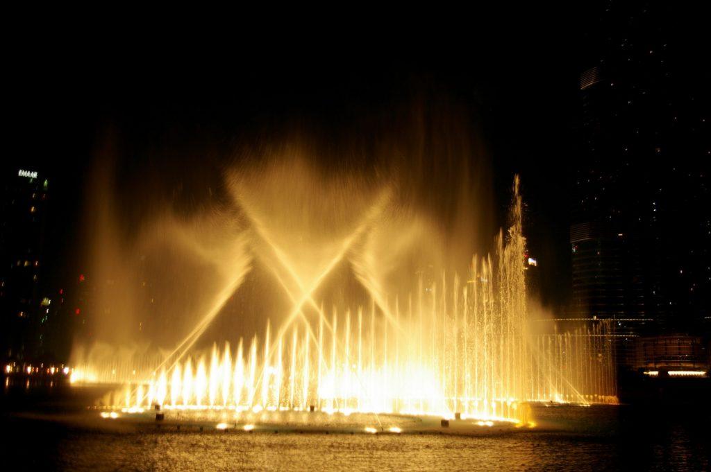Qué ver en DUBAI - Show de luces