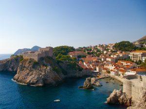 Qué ver en CROACIA – Playa de Dubrovnik