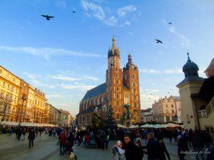 Visita a la zona histórica de Cracovia