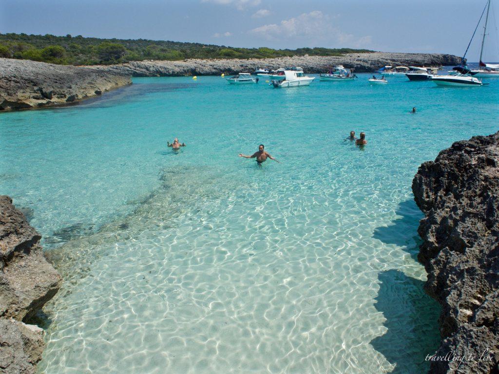 Mejores calas de Menorca