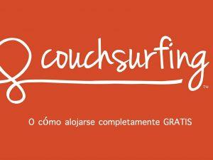 Qué es Couchsurfing
