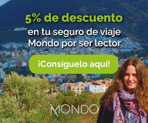 5% de descuento en el Seguro de viaje con Mondo