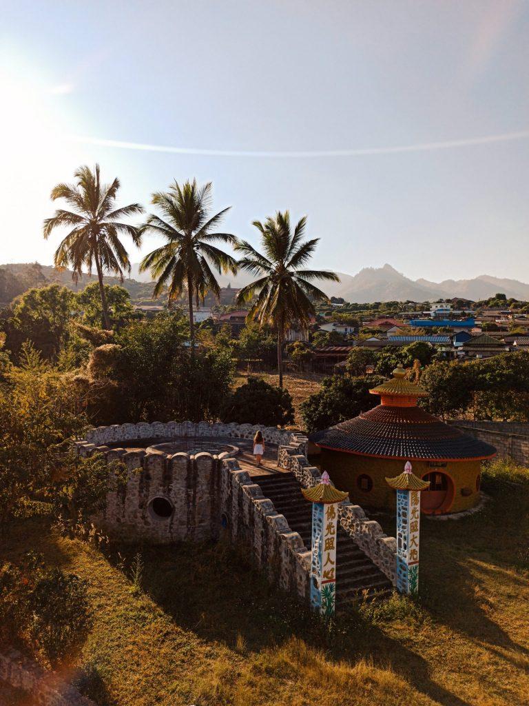 Santichon Chinese Village, un pueblo chino en Pai