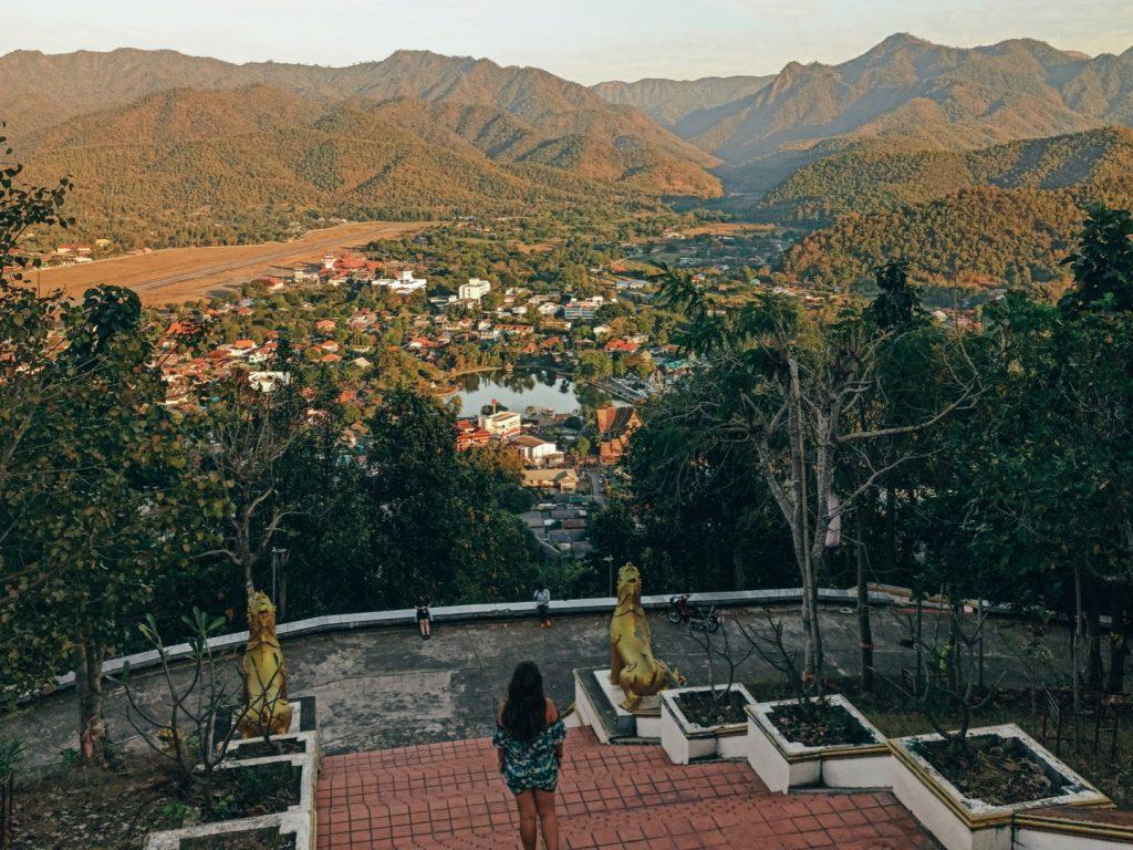 Mirador de Mae Hong Son, las vistas más espectaculares de la ciudad (Mae Hong Son loop)