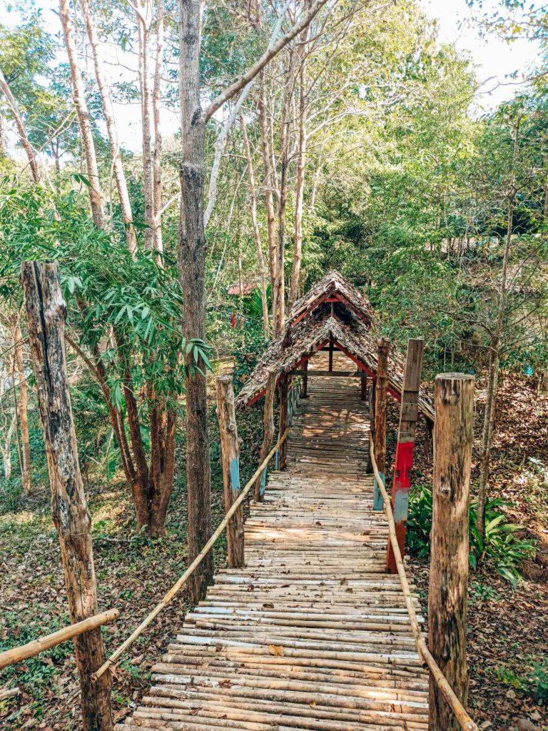 Bamboo Bridge de Mae Hong Son (Mae Hong Son loop)