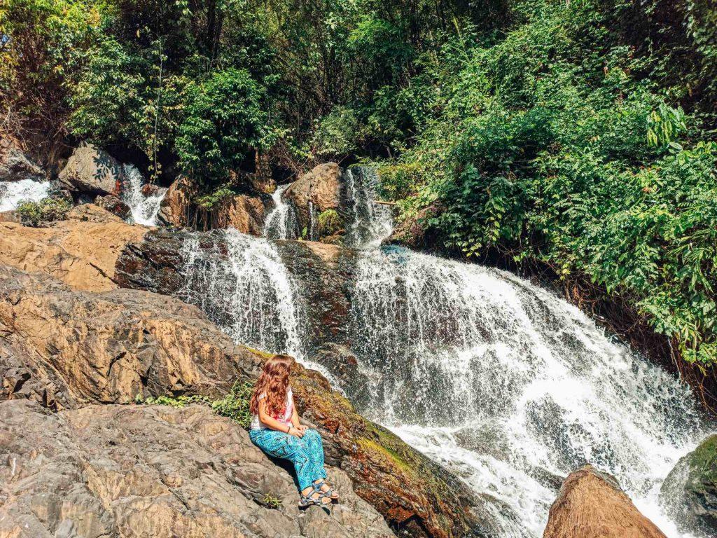 Cascada Pha Sua en el Loop de Mae Hong Son