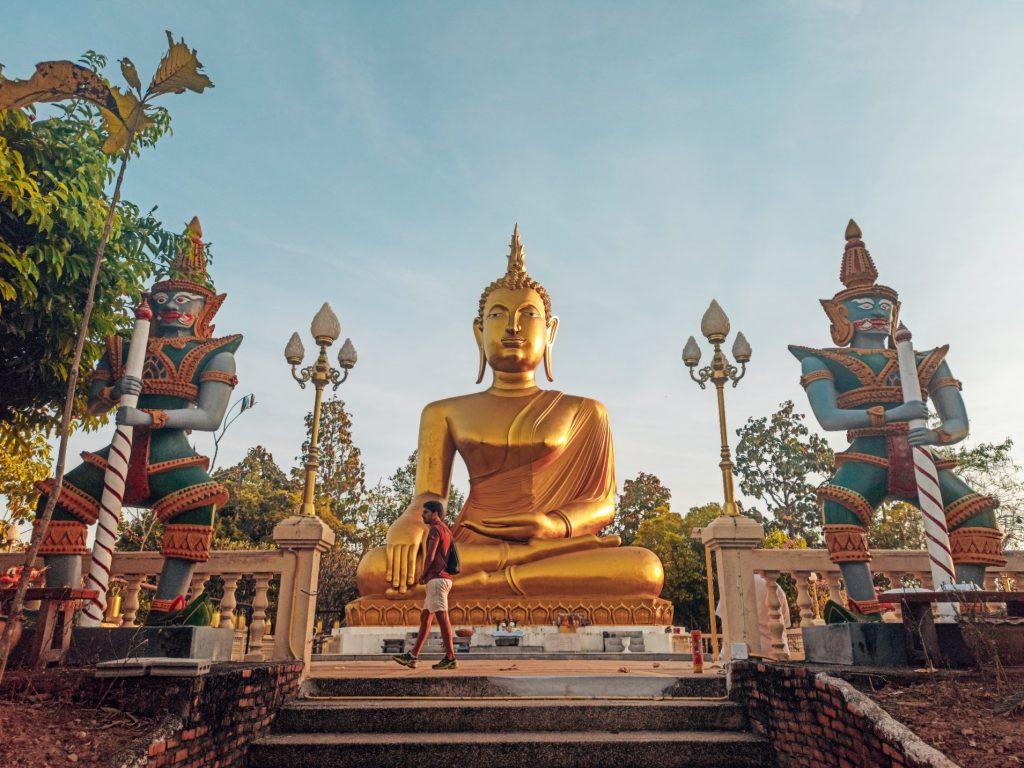 Golden Buddha, una visita imprescindible en Mae Sariang (Mae Hon Son loop)