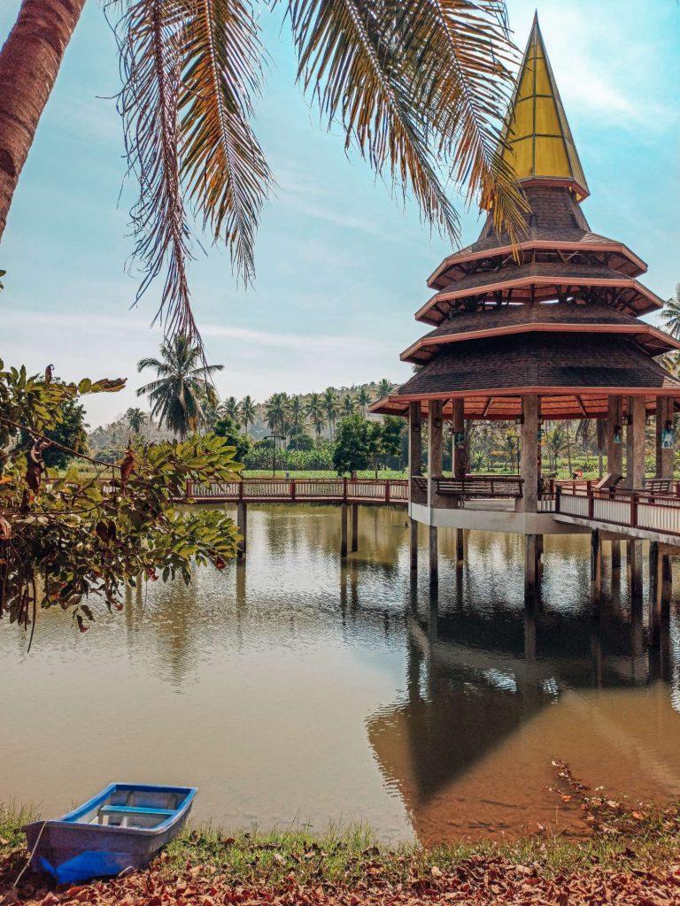 El lago más bonito de Mae Sariang, una visita imprescindible