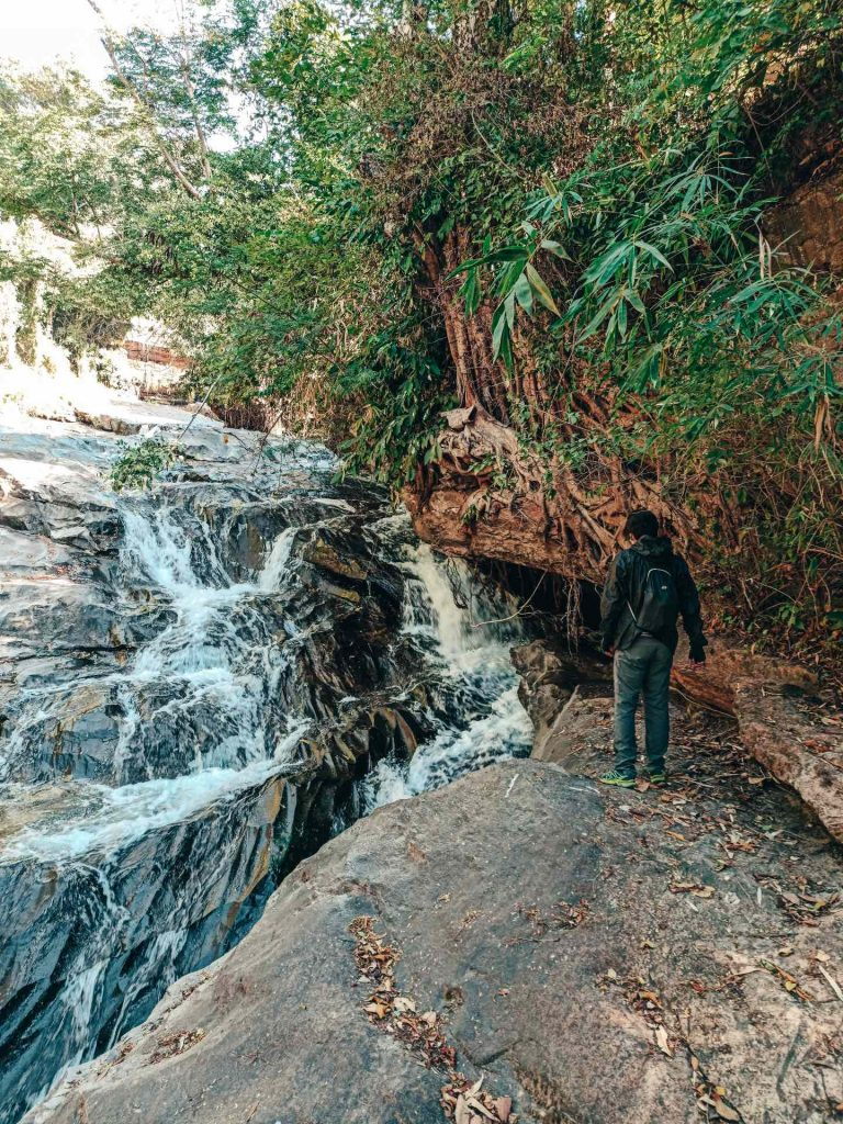 Mae Klang Falls en el Parque Nacional Doi Inthanon, Tailandia