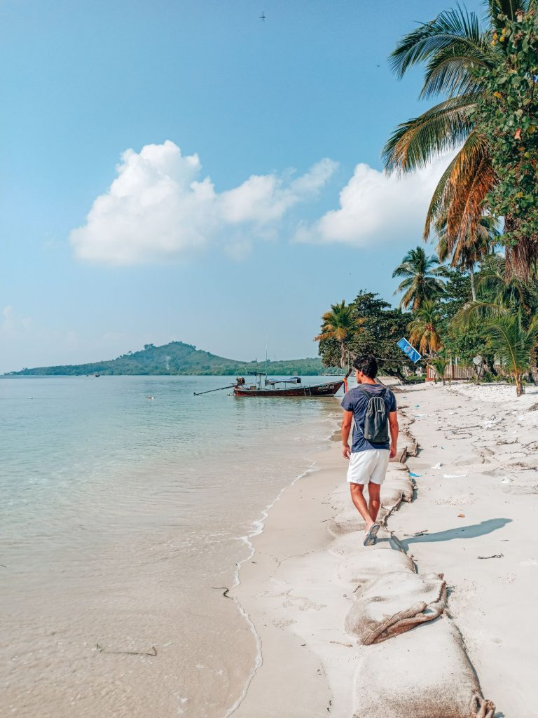 Sivalai Beach, la playa del resort de lujo de Koh Mook
