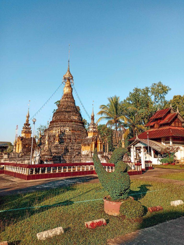 Wat Jong Sung, un templo imprescindible en Mae Sariang
