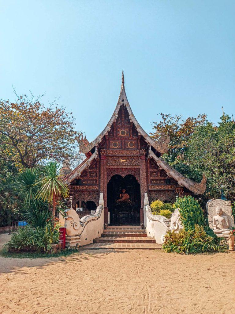 Wat Pan Sao, un templo muy tranquilo que ver en Chiang Mai