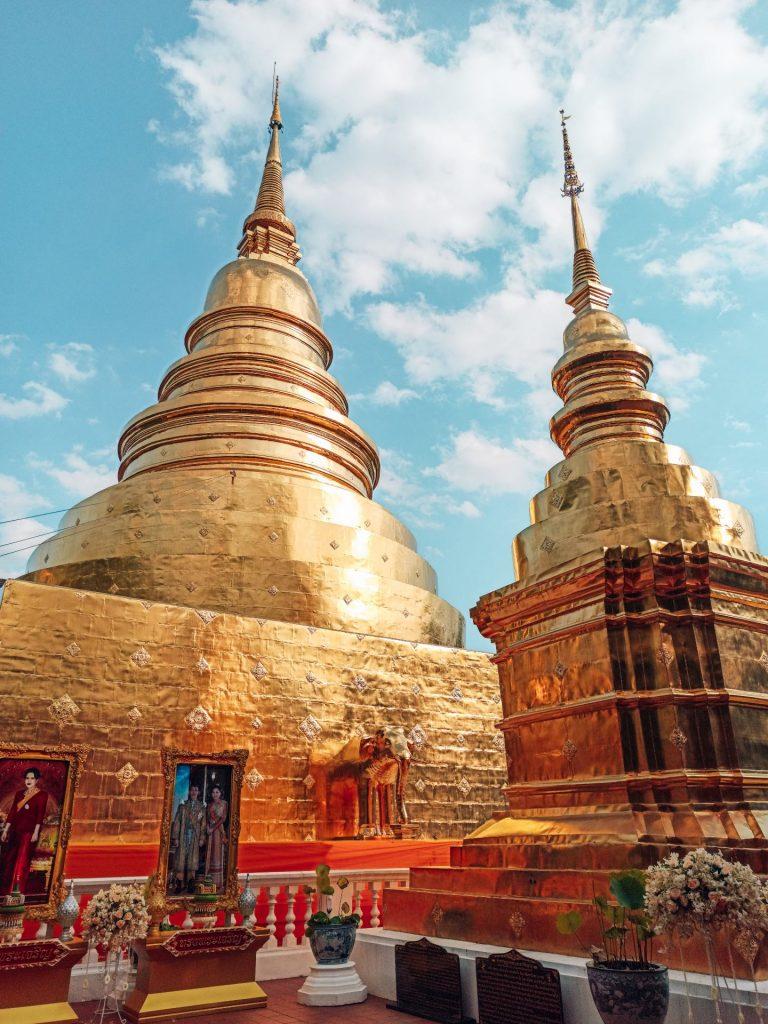 Wat Phra Singh, uno de los templos más famosos de Chiang Mai