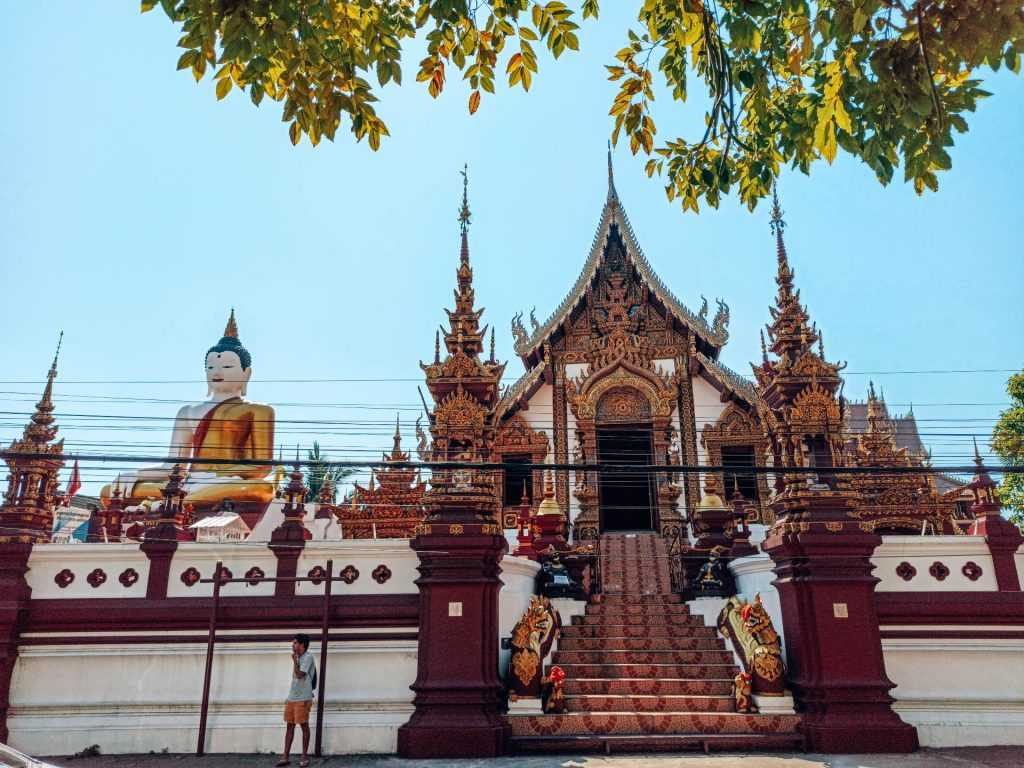 Wat Rajamontean, un templo imprescindible en Chiang Mai