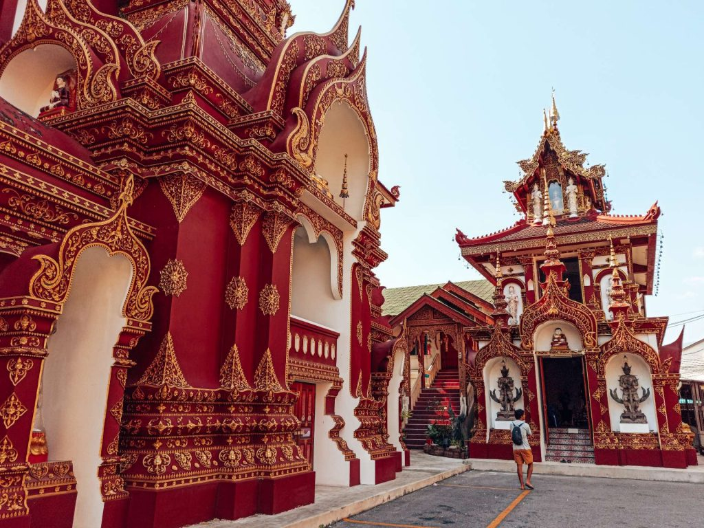 Wat Saen Muang Ma Luang, uno de los templos más bonitos de Chiang Mai