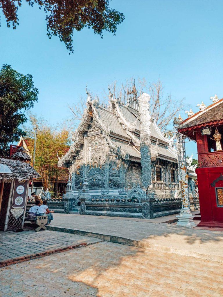 Wat Sri Suphan, el templo de plata de Chiang Mai