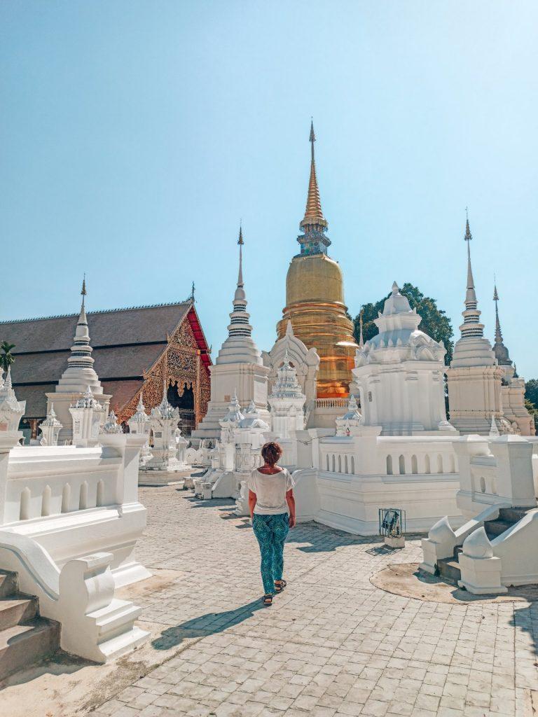 Wat Suan Dok, un templo diferente que ver en Chiang Mai
