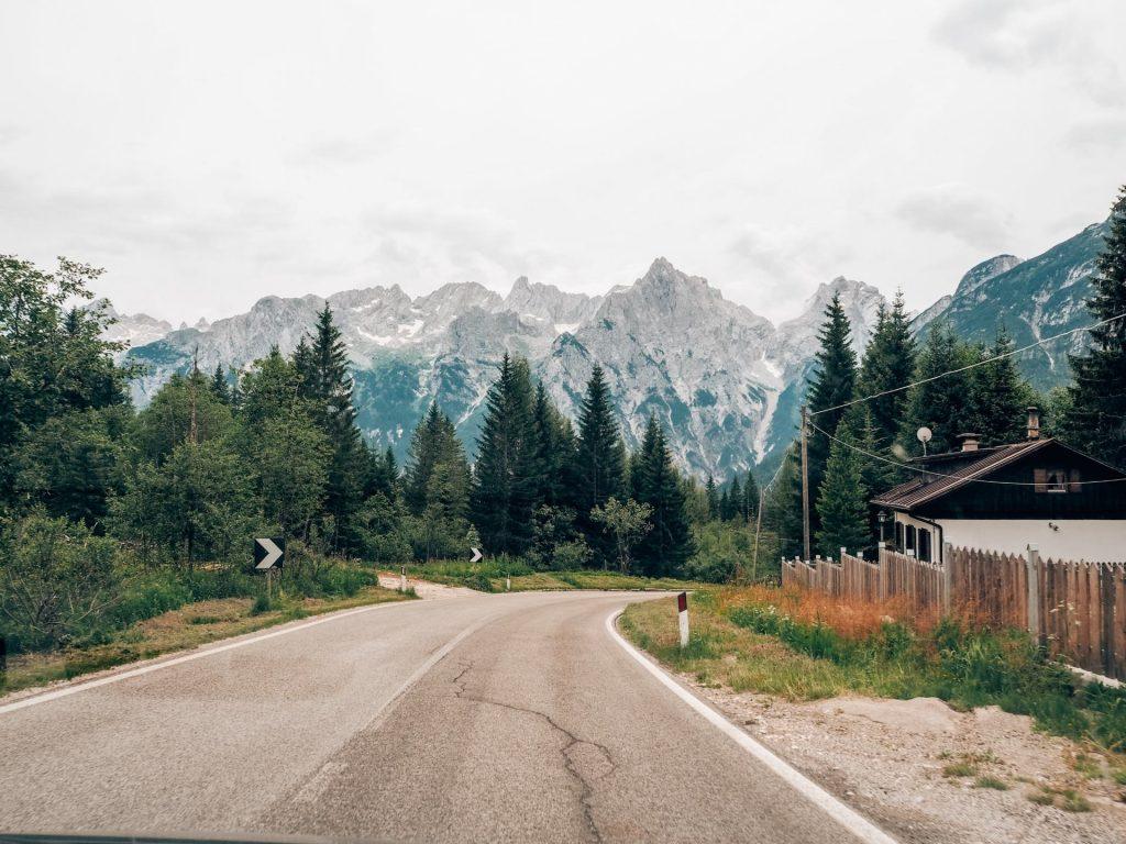 Camino al Lago di Sorapis, Las Dolomitas