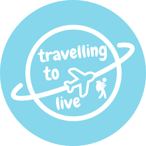 Logo travelling to live
