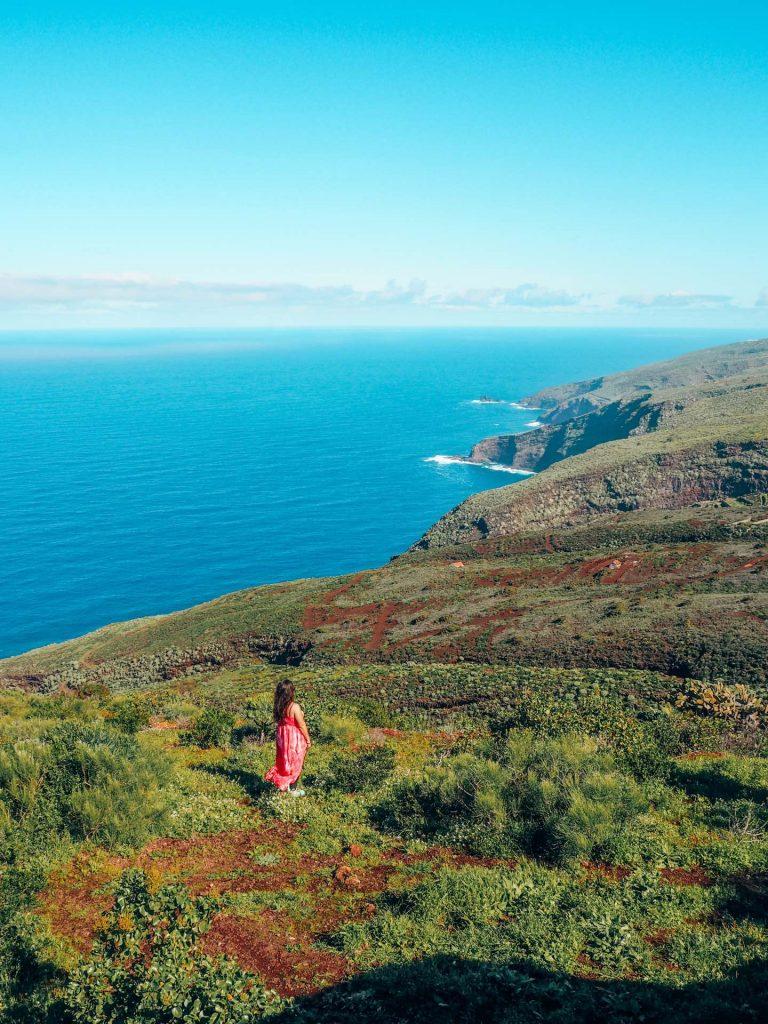 Vistas desde el Mirador Matos, el más bonito de Puntagorda