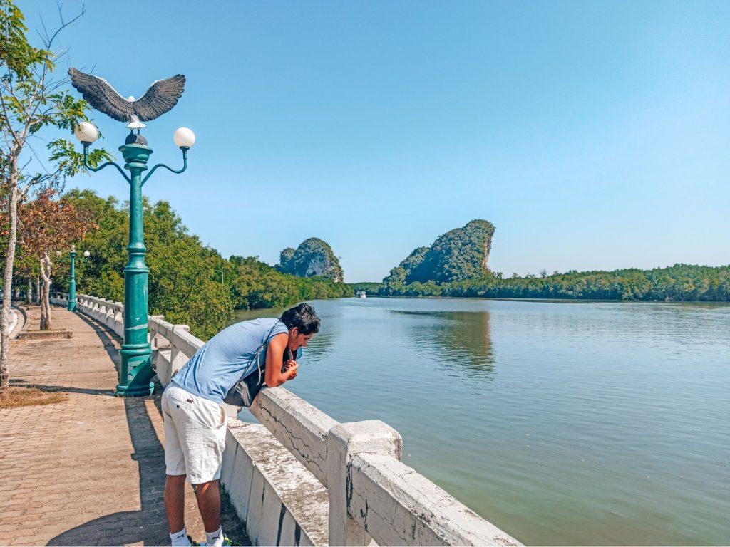 Pak Nam, un paseo precioso por el río de Krabi