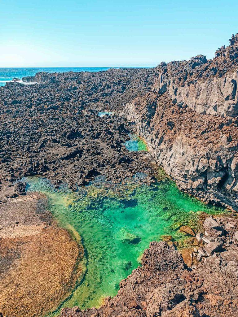 Charcho El Aljibe, en la Playa de Echentive, un rincón escondido precioso en La Palma