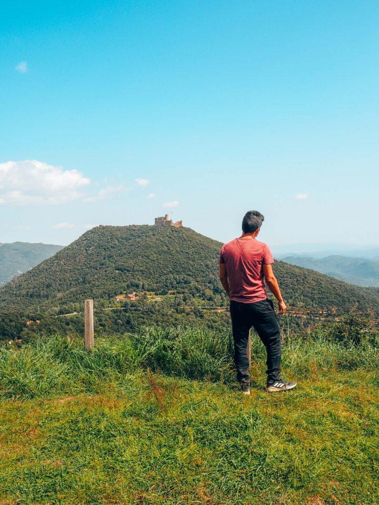 Mirador del Castillo de Montsoriu