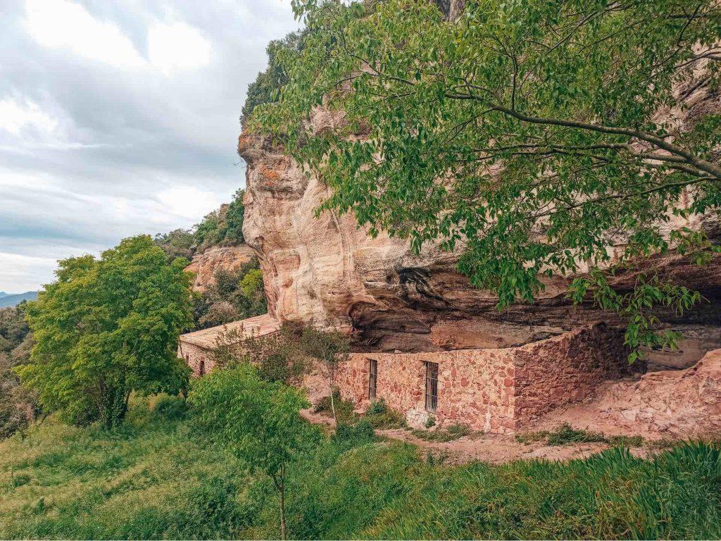 Camí dels Frarers, en el Castillo Monasterio de Sant Miquel d'Escornalbou