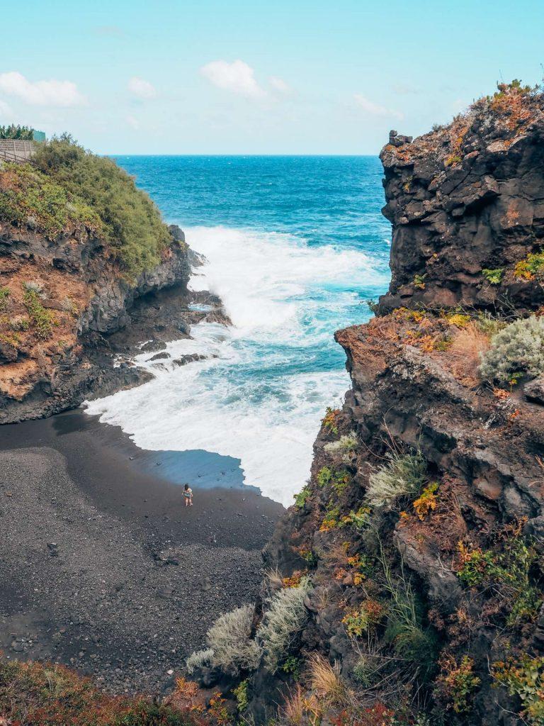 Cala Puerto Trigo, un sitio único en Puntallana