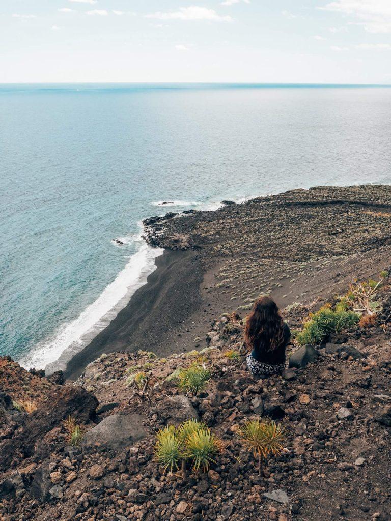 Playa del Azufre, una playa salvaje en La Palma