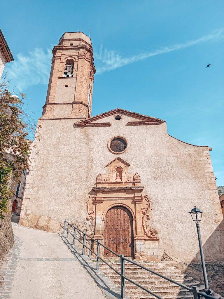 Parroquia San Juan Bautista, en el Casco Antiguo de La Vilella Baixa