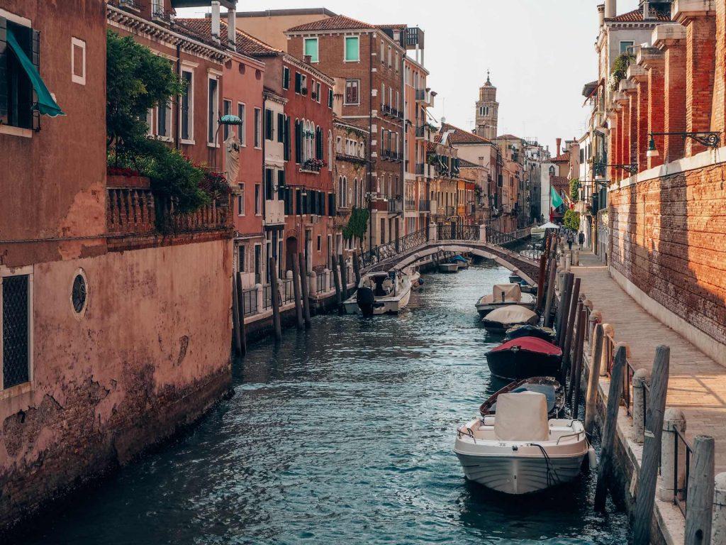Canales de Venecia, un imprescindible en Italia
