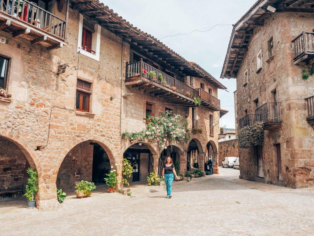 Santa Pau, el pueblo más bonito de La Garrotxa