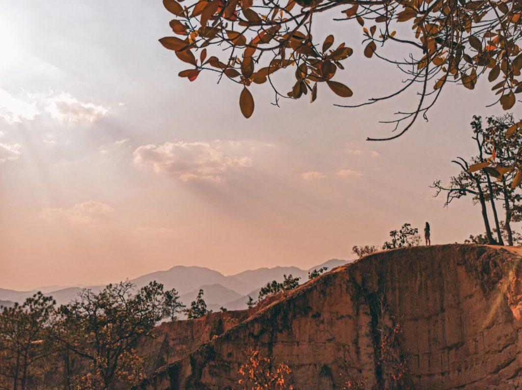 Atardecer en el Pai Canyon, un imprescindible en el Loop de Mae Hong Son