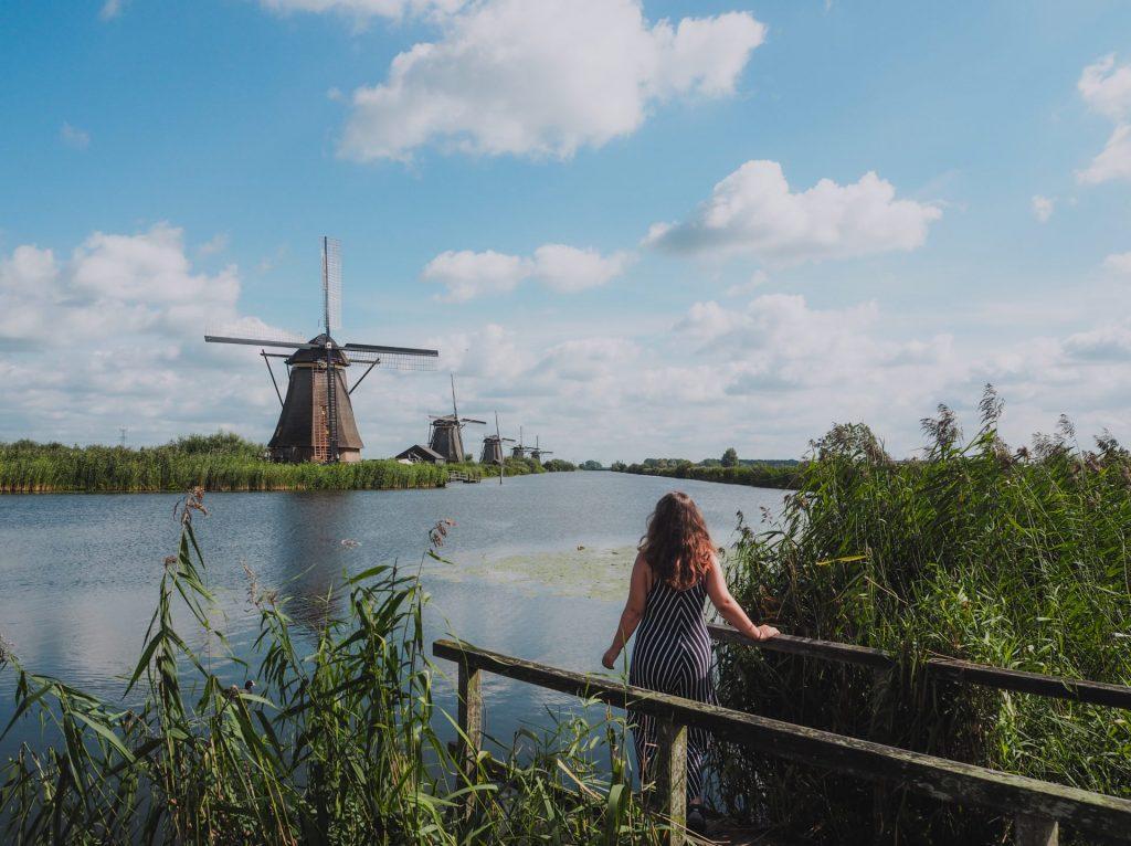 Kinderdijk, un excursión que hacer en bici desde Rotterdam
