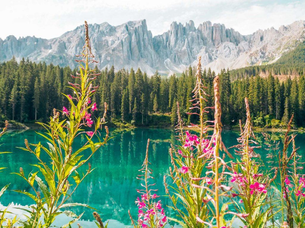 Lago di Carezza, Dolomitas, Italia 1