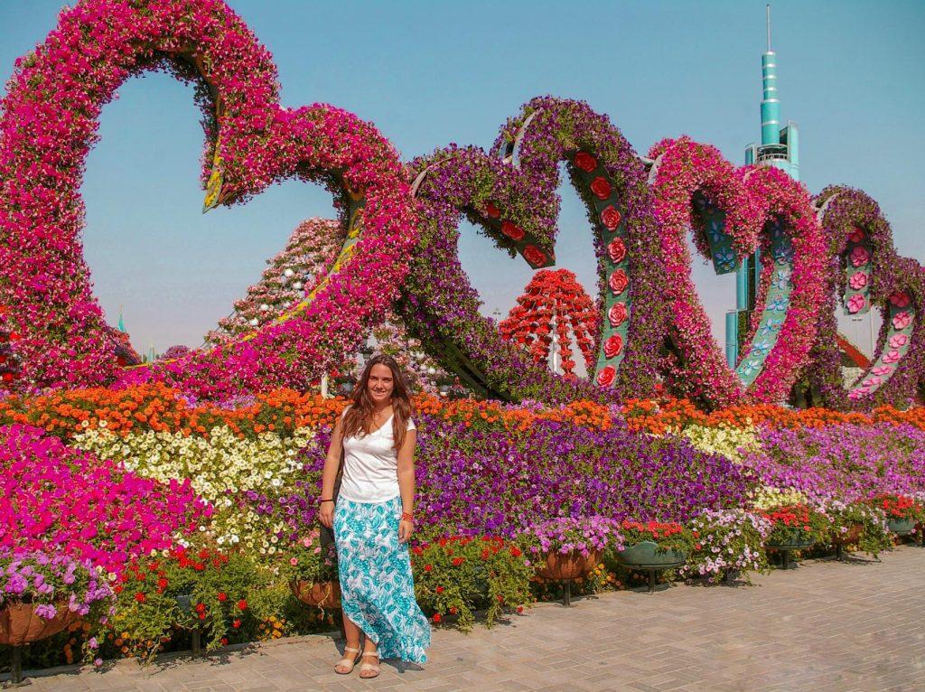 Miracle Garden, un jardín espectacular en Dubai